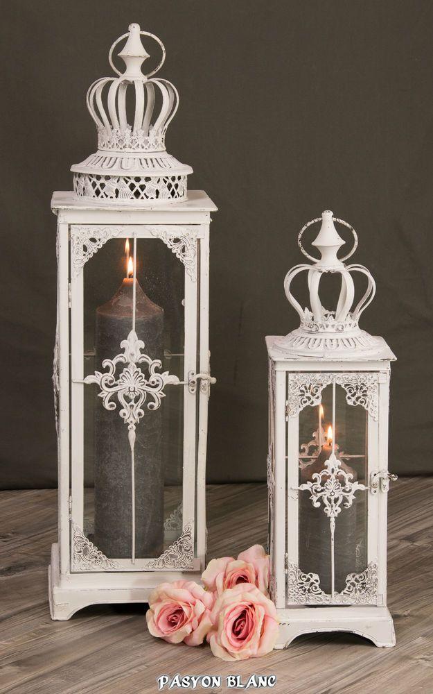 Details zu Laterne Windlicht Gartenlaterne Kerzen Licht