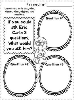 1000+ images about Eric Carle Author Study on Pinterest