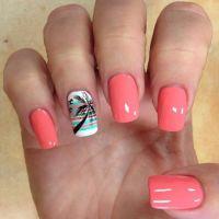25+ Best Ideas about Palm Tree Nail Art on Pinterest