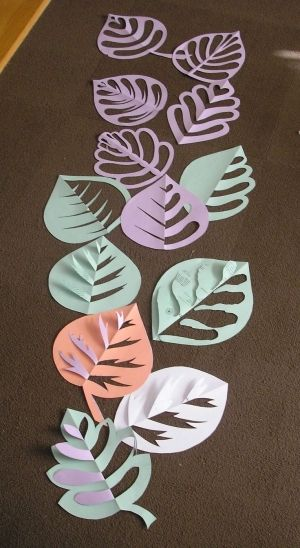 cute lesson for symmetry and positivenegative space by leona  art projects for kids