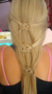 fantastic knotted hairstyles