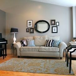 Living Room Paint Colors With Brown Couch Color Schemes 2016 Beige And Blue Contrast Walls   On The Wall ...