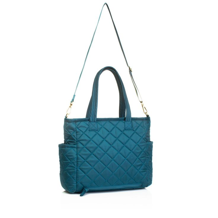 Carry Love Tote Teal