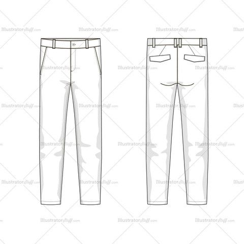 48 best images about pants flat sketch on Pinterest