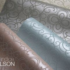 Candice Olson Living Rooms Pictures Contemporary Room Curtain Interior Design Writer's Retreat: Pearlized Wallpaper With Glass Bead ...