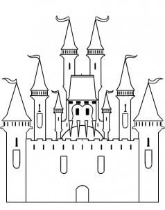 How to Draw a Castle, Step by Step, Buildings, Landmarks