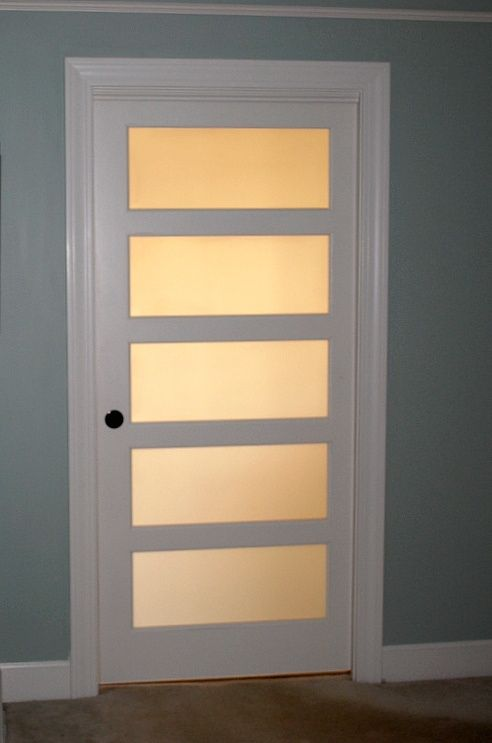 . frosted glass interior doors for bathrooms
