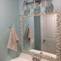 Best 25+ Tile Mirror Frames ideas that you will like on ...