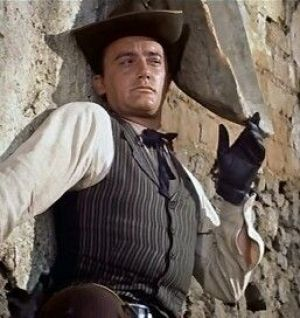 Image result for young steve mcqueen and robert vaughn in the magnificent seven