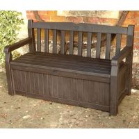 25+ best ideas about Deck Storage Bench on Pinterest