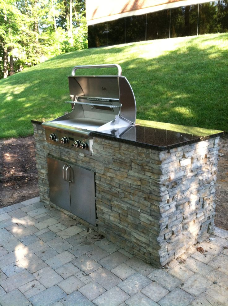 17 Best ideas about Small Outdoor Kitchens on Pinterest