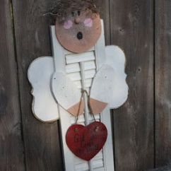 Grandma Rocking Chair White Leather Accent Modern 9 Best Images About Angel Made From Shutters On Pinterest | Craft Sticks, Garden Angels And Scrap