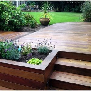 25 Best Ideas About Deck Landscaping On Pinterest Flood