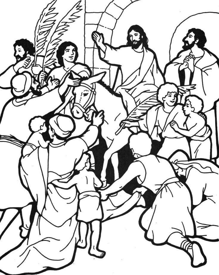 78+ images about Bible: Jesus and His Triumphal Entry on