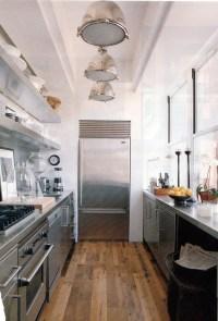 Industrial chic galley kitchen | Genre - Industrial ...