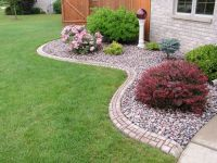 25+ best ideas about Rock flower beds on Pinterest