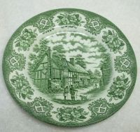 259 best images about Home: Green Toile, Transferware ...