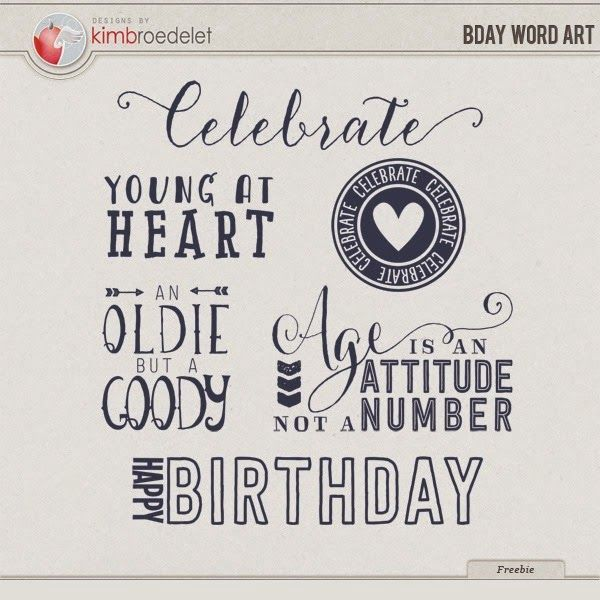 31 best images about Birthday Themed Freebies on Pinterest