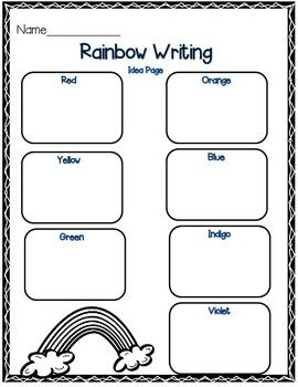 25+ best ideas about Rainbow poem on Pinterest