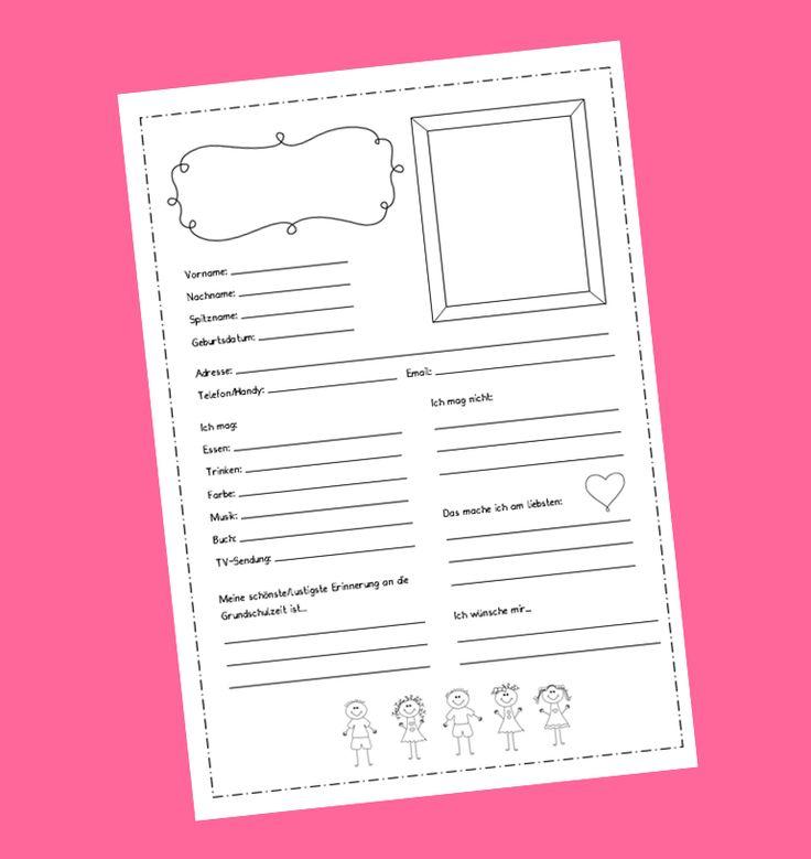 Die 25 besten Ideen zu Freundebuch kindergarten auf