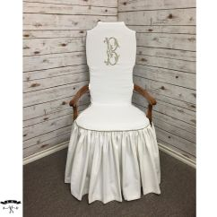 Wingback Chair Covers Gray Non Toxic High 17 Best Images About Ruffled Skirt On Pinterest | Slipcovers, Settees And Custom Slipcovers