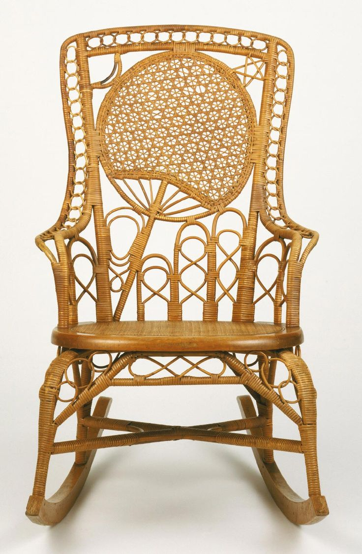 Rocking Armchair Made by Heywood Brothers and Company Gardner Massachusetts 1826  1897