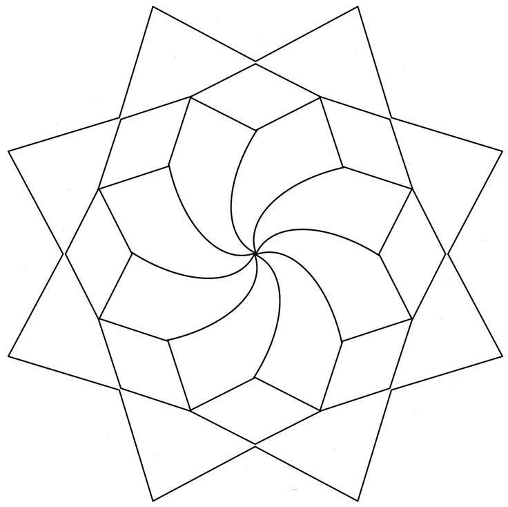 Coloring, Mandalas and Patterns on Pinterest