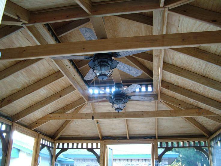 Gazebo Roof Designs Rectangular And Square Gazebos