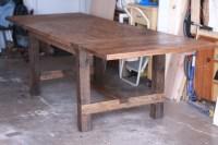 Expandable Farmhouse Table 64x38, expandable to 102x38 ...