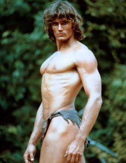 Image result for miles o'keefe as tarzan