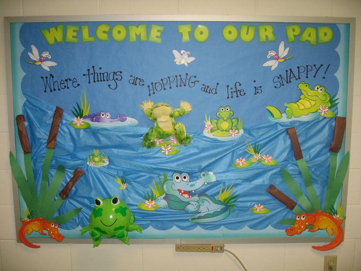Best 25 Frog Bulletin Boards Ideas On Pinterest Spring