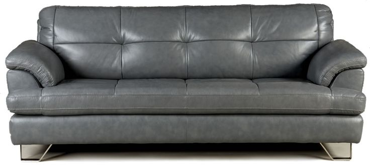17 Best Ideas About Grey Leather Sofa On Pinterest Grey