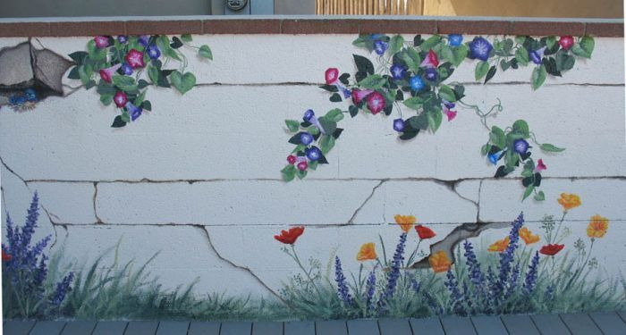 14 Best Images About Wall Murals On Pinterest Painted Fences