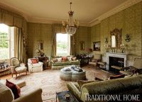 The quintessential English drawing room is about layers ...