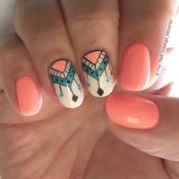 1000+ ideas about Coral Nail Designs on Pinterest | Coral ...