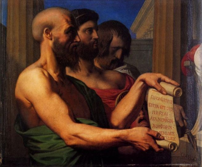 Image result for Sophocles and euripides