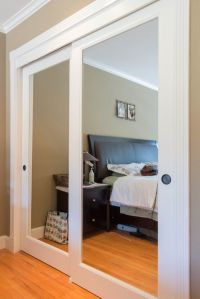 25+ best ideas about Mirrored closet doors on Pinterest