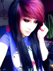 hair bang 3 and emo