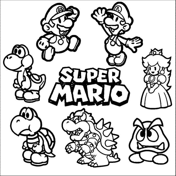 109 best images about Cross Stitch Mario & Luigi on