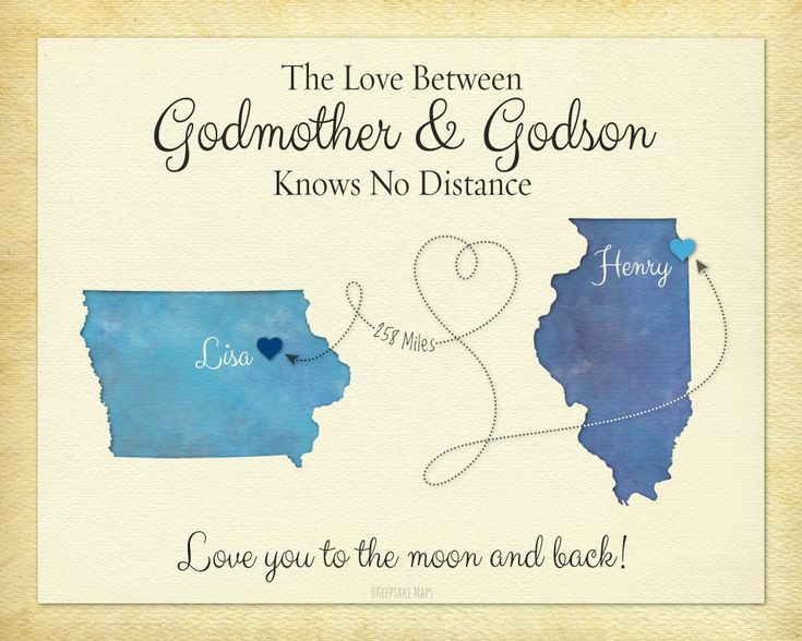 Godmother Gift Godson Gift Long Distance Gift