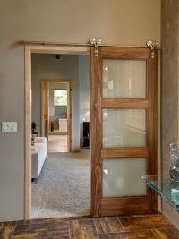 Best 20+ Glass barn doors ideas on Pinterest   Barn doors ...