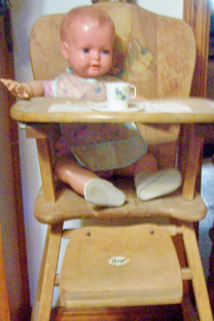 antique wooden high chair best hunting chairs 1950s vintage chair: 10+ handpicked ideas to discover in other | wood chairs, baby ...