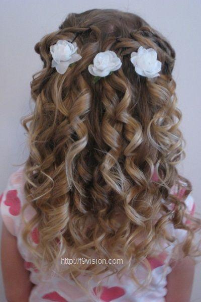 25 Best Ideas About Junior Bridesmaid Hairstyles On Pinterest