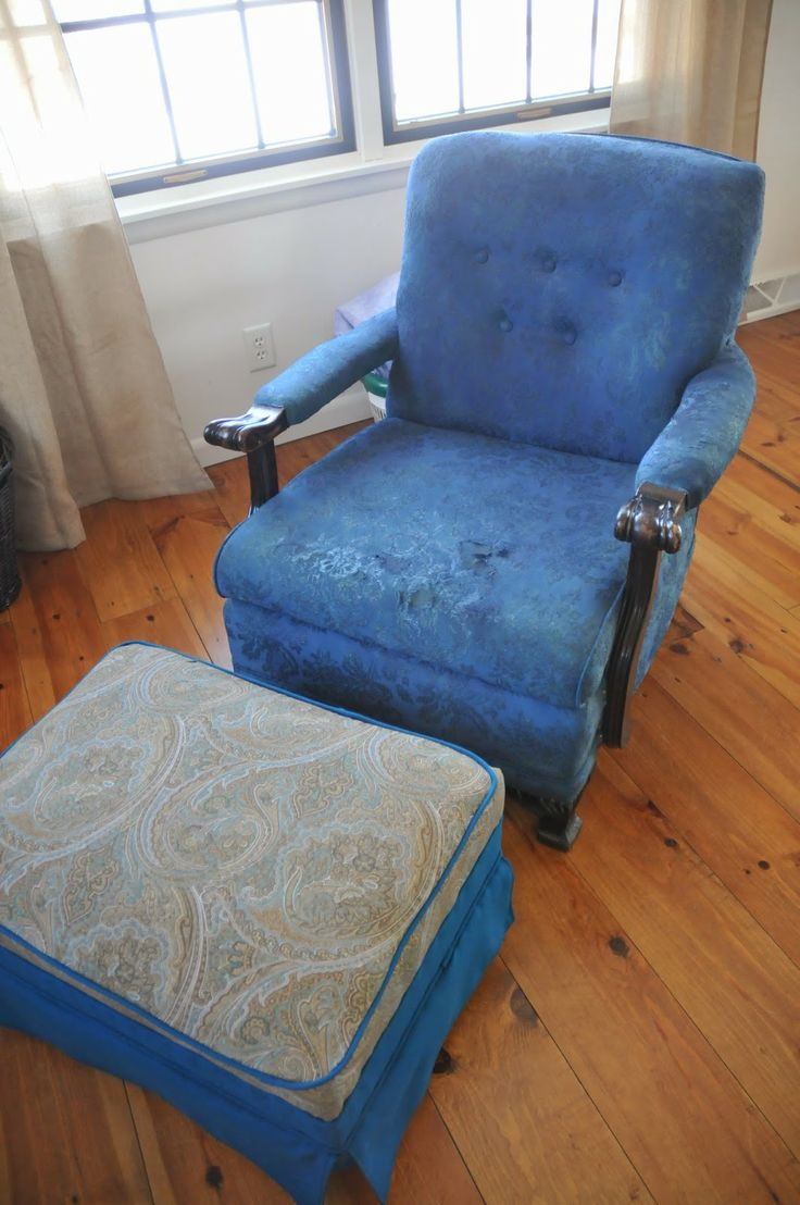 Transforming a white chair with Rit Dye via www