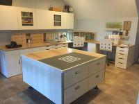 Art room, studio, Stamp-n-Storage, Stampin' Up, Ikea, Alex ...