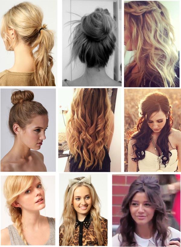 Cute Easy Hairstyles For School