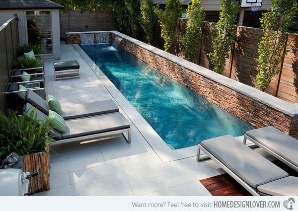 25 Best Ideas About Small Backyard Pools On Pinterest Small