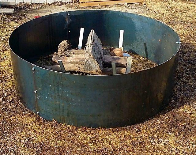 custom hexagon fire pit fire pit
