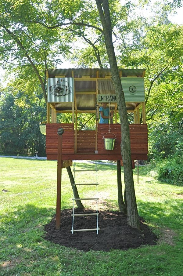 25 Best Ideas About Kid Tree Houses On Pinterest Tree House