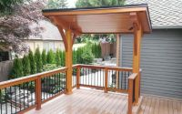covered bbq area in deck - Google Search | Decks and ...